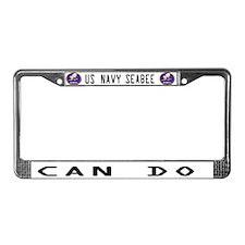 Seabee License Plate Frame