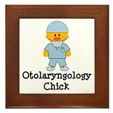 Otolaryngology Chick Framed Tile