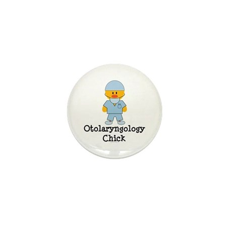 Otolaryngology Chick Mini Button