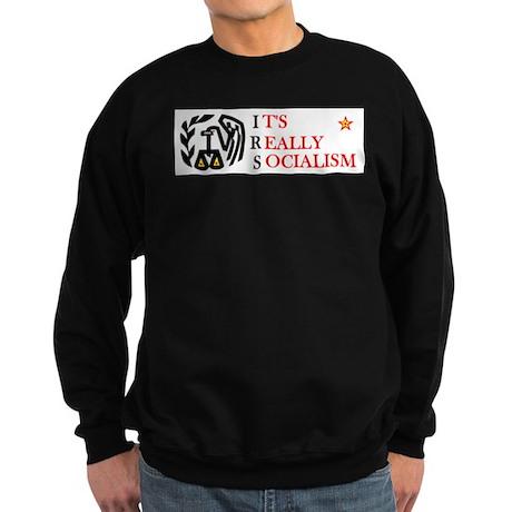 OBAMA'S HIT MEN Sweatshirt (dark)