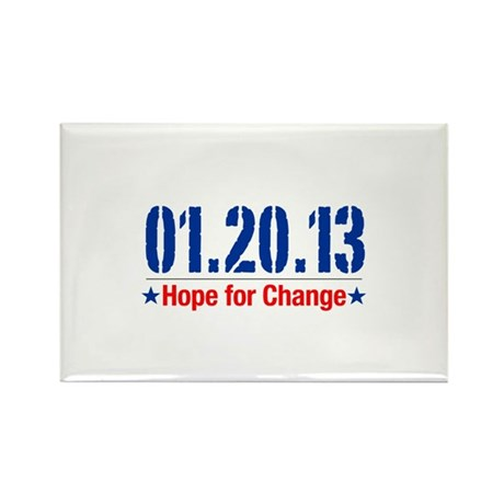 Hope For Change Rectangle Magnet (10 pack)