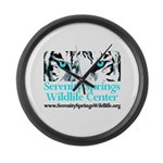 Logo Large Wall Clock