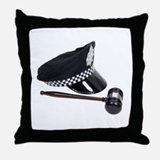 Unique Law and order Throw Pillow