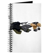 Cute Aviator goggles Journal