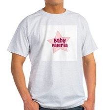 Baby Valeria Ash Grey T-Shirt