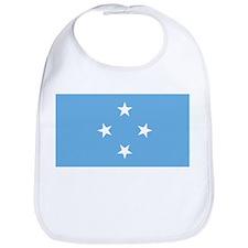 Micronesia Flag Bib