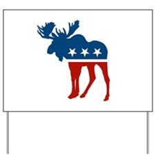 Sarah Palin Moose Yard Sign