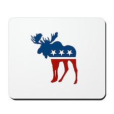Sarah Palin Moose Mousepad