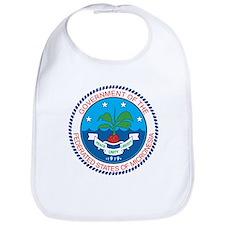 Micronesia Coat Of Arms Bib
