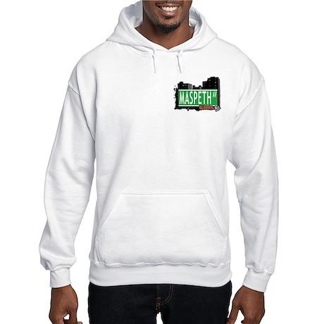 MASPETH AVENUE, QUEENS, NYC Hooded Sweatshirt