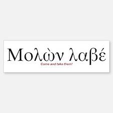 Molon Labe - Bumper Sticker (10 pk)