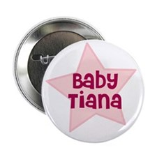 """Baby Tiana 2.25"""" Button (100 pack)"""