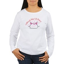 GFmklifebtr_2martinis-4 Long Sleeve T-Shirt