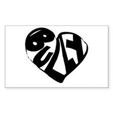 Bully Lover Rectangle Decal