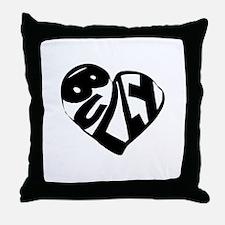 Bully Lover Throw Pillow