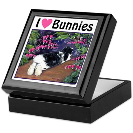 I love Bunnies Keepsake Box