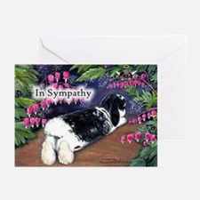 In Sympathy rabbit Greeting Cards (Pk of 20)