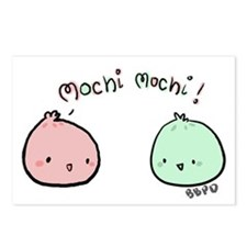 Mochi Mochi Postcards (Package of 8)