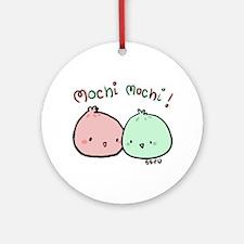 Mochi Mochi Ornament (Round)
