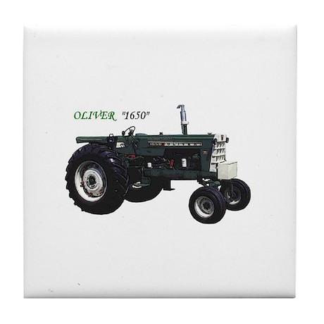 Oliver tractors Tile Coaster