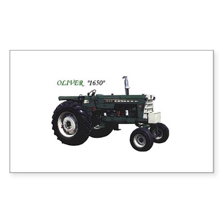 Oliver tractors Rectangle Sticker