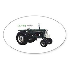 Oliver tractors Oval Decal
