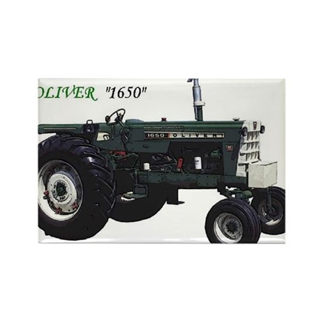 Oliver tractors Rectangle Magnet