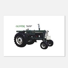 Oliver tractors Postcards (Package of 8)