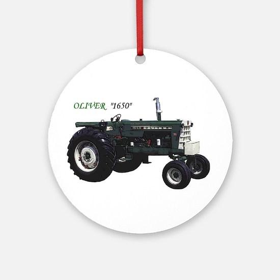 Oliver tractors Ornament (Round)