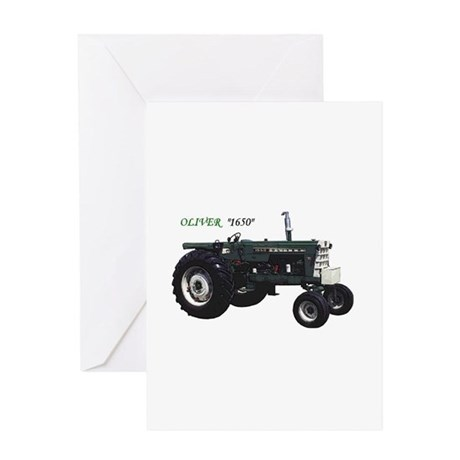 Oliver tractors Greeting Card
