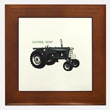 Oliver tractors Framed Tile