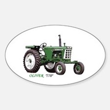 770 Oliver Oval Decal