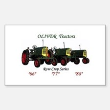 Oliver Trio 66,77,88 Rectangle Decal