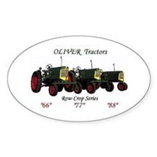 Oliver Trio 66,77,88 Oval Decal