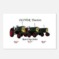 Oliver Trio 66,77,88 Postcards (Package of 8)