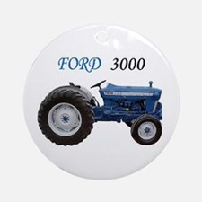 3000 Ford Ornament (Round)