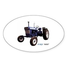 Ford 4000 Oval Decal