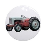 Ford tractor Round Ornaments