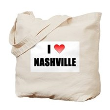 Cute Nashville Tote Bag