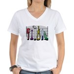 The Usual Suspects Women's V-Neck T-Shirt