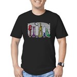The Usual Suspects Men's Fitted T-Shirt (dark)