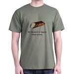 Funny Cannoli Dark T-Shirt