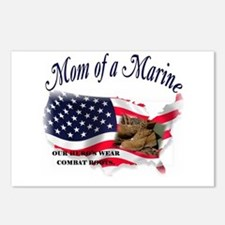 Mom of a Marine Postcards (Package of 8)