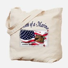 Mom of a Marine Tote Bag
