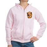 best friends Women's Zip Hoodie
