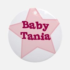 Baby Tania Ornament (Round)