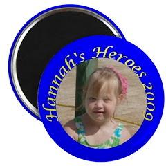 """Hannah's Heroes 2.25"""" Magnet (10 pack)"""