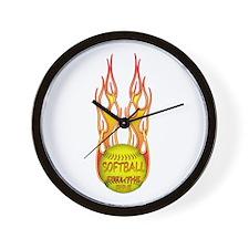 Feel the fire Wall Clock