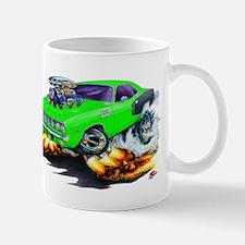 1971-72 Hemi Cuda Green Car Mug