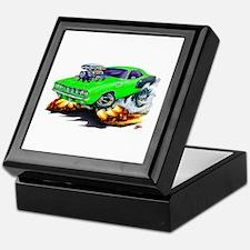 1971-72 Hemi Cuda Green Car Keepsake Box